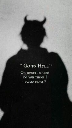 At least I can be able to see my demons in hell 🔥 - Laura Cunha - Wallpapers Designs I wish I could go back. At least I can be able to see my demons in hell 🔥 - Laura Cunha - Hell Quotes, Badass Quotes, True Quotes, Funny Quotes, Qoutes, Sarcastic Quotes, Sad Wallpaper, Wallpaper Quotes, Painting Wallpaper