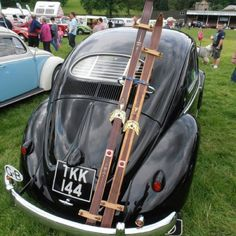 vw bug at Dubs in't Dales show 2012