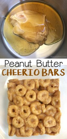Healthy Sweet Snacks, Healthy Dessert Recipes, Delicious Desserts, Snack Recipes, Yummy Food, Banana Recipes Clean Eating, Peanut Butter Cheerio Bars, Easy Snacks For Kids, Food Bars