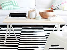 Interior Designers Share Their Favorite Ways to Hack IKEA Furniture Diy Coffee Table, Diy Table, Deco Furniture, Ikea Furniture, Reclaimed Headboard, Room Interior, Interior Design, Ikea Decor, Mesas