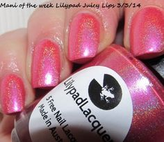 Lilypad Lacquer Juicy Lips