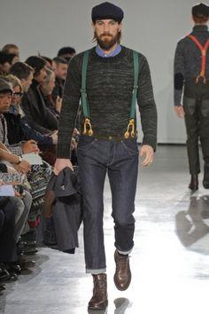 Junya Watanabe fall/2012   http://urbane-menswear.com/post/19534158521/an-urbane-favorite-junya-watanabe-fall-2012