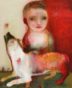 'White dog' (El perro blanco) - SylC (b. 1973)