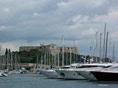 The port in Antibes, France. #southoffrance #french #travel