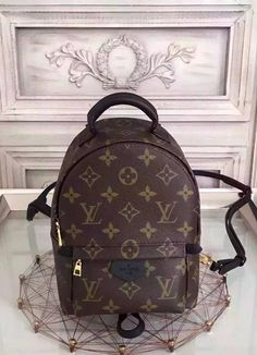 Adorned with the renowned Monogram Canvas, this backpack is high-class, elegant and sweet. Even if you dislike backpacks, you'll still desire to add this particular to your wardrobe. View it on http://www.luxtime.su/louis-vuitton-handbags/louis-vuitton-monogram-mini-palm-springs-backpack-m41562
