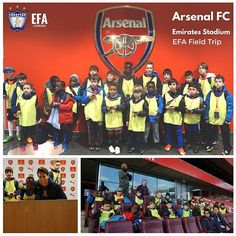 Snapshots  of the EFA's field trip to the Emirates Stadium ⚽️ #WeAreEFA #TeamEFA #EFALondon #EFAcamps #EFAfieldTrips @arsenal @arsenalfcfans @arsenalfootball #EFAgoestoArsenalEmiratesStadium #YouthFootball #LondonAcademy #LondonCamps #LondonTrainingCamps #YouthFootball