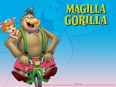 The Magilla Gorilla Show is an animated series for television produced by Hanna-Barbera for Screen Gems between 1963 and and ori. Funny Cartoon Pictures, Cartoon Photo, Vintage Cartoon, Cartoon Pics, Cartoon Characters, Cartoon Crazy, Old School Cartoons, Old Cartoons, Classic Cartoons