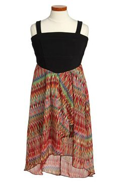 Roxette High/Low Dress (Big Girls) available at #Nordstrom