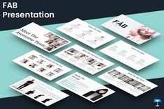 FAB - Keynote Template by inspirasign on @creativemarket