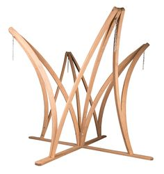 Carousel Wood Standard Hammock Stand