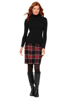 would love a plaid/tartan skirt for the winter!