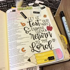 Test Our Ways - Bible Page - Scrapbook.com