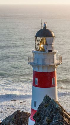 Cape Palliser #Lighthouse - #New #Zealand- by Canon Camera http://dennisharper.lnf.com/
