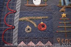 THE QUILTED PINEAPPLE: Merry Christmas Quilt