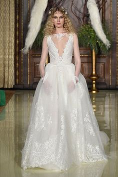 Pin for Later: 80 Must-See Wedding Dresses From Bridal Fashion Week Spring 2016 Galia Lahav Bridal Spring/Summer 2016