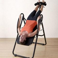 GAIAM Back Pain Relief Therapy Adjustable Ergonomic Inversion Gravity Table