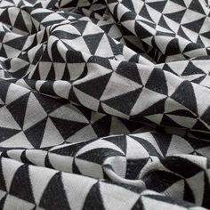 Warwick Fabrics : VIVIEN, Colour EBONY