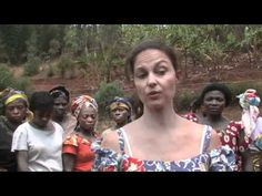 Sponsor a woman for a year to empower her and enable her to take care of her family. Love this organization.  Activist and actress Ashley Judd visited a Women for Women International office in DR Congo in 2010. She discusses Women for Women International's commercial, organic farming programs, job-skills training, education and business education initiatives. #women #womenforwomen #DRC