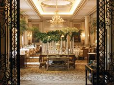 "This 1928 white-stone Art Deco landmark with an inner courtyard, near the Champs-Élysées, is where ""the magic of Paris comes to life."" Overall score: 96 See full rating information for Four Seasons Hotel George V Paris"
