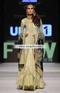 Asian Wedding Gowns Shehla Chatoor Bridal Dresses Holland Netherland D5606 Bridal Wear