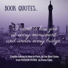 I'm planning to add quotes from books on a regular basis. Here's the first one from 'Passion Patrol' - a suspense thriller with more than a touch of romance that unravels in Paris London New York and Monterey.... With a rather memorable moment off the coast of Antibes on the deck of a luxury yacht....#books #bookworm #booklover #bookstagrammer #booklove #booknerd #instabook #book #igreads  #reading #bibliophile #bookish #quotestags #quotestagram #bookquotes #lovequotes #goodquotes…