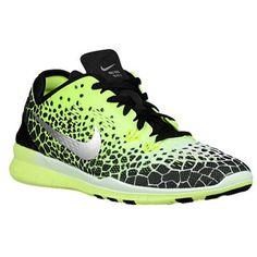 Nike Free 50 TR FIT 5 PRT Womens BlackMetallicSilverWhite Training Sneakers  *** Check this