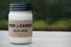 Harmony Bath and Body Products Best Man Candle - Best Soy Beeswax Candle - Premium Quality - Recyclable Mason Jar - Novel Gift - 11 Oz Large Candle – Walk in The Woods Scent Paraffin Candles, Soy Candles, Scented Candles, Candle Jars, Mason Jars, Soy Candle Making, Large Candles, Walk In The Woods, Burning Candle