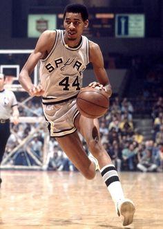George Ice Man Gervin San Antonio Spurs