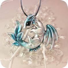 Blue arctic dragon by AlviaAlcedo.deviantart.com on @DeviantArt