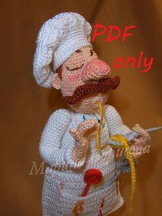 Cook Crochet Pattern amigurumi PDF