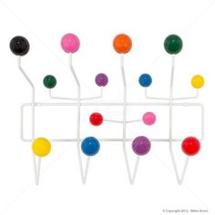 Eames Replica Hang It All Rack - Buy Eames Replica Coat Rack and Scandinavian Furniture on sale now at Milan Direct Eames Furniture, Hallway Furniture, Kids Bedroom Furniture, Furniture Sale, Contemporary Wall Hooks, Eames Chair Replica, Wall Hook Rack, Cover Style, Garment Racks