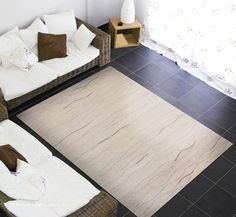 Ocean Waves Cream Rug Natur Pur A Luxury Hand Knotted Natural Undyed