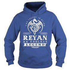 The Legend Is Alive REYAN An Endless Legend v1 T-Shirts & Hoodies