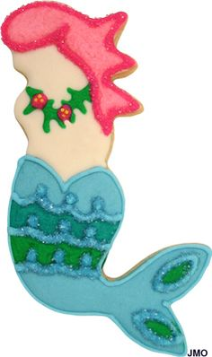 Mermaid cookie