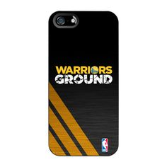Golden State Warriors Coveroo Warriors Ground iPhone 5 Cover - Black
