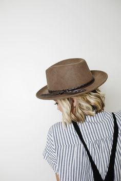 The PERFECT hat has arrived. Fall and winter fashion must have but can translate to practically any occasion.