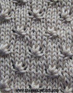Knot Stitch   The Weekly Stitch