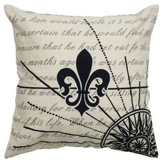 "Rizzy Home Decorative Pillow Rizzy - Black (20""x20"")"
