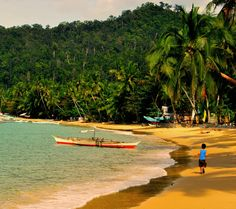 Port Barton beach, on the island of Palawan