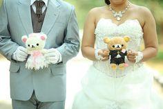 Rilakkuma and Korilakkuma in my wedding