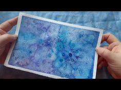 HOW TO PAINT WATERCOLOR PATTERNS/ No Talk, Just Background Voices - YouTube Painting Videos, Painting Process, Painting Tutorials, Watercolor Techniques, Watercolor Paintings, Watercolor Pattern, Asmr, The Voice, The Creator