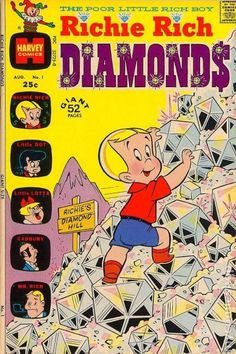 I loved Harvey comics as a child