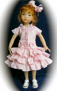 PINK-CONFECTION-4-EFFNER-13-LITTLE-DARLING-HAND-MADE-BY-SIS-FROM-MHD-PATTERN. Sold 6/10/14 for one bid of $74.99.