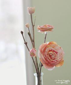 #FLOWERS #Pink Paper Flowers  #Roses