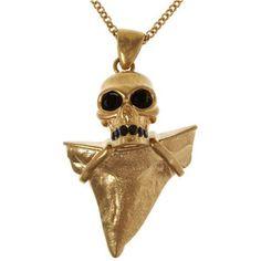 Chicnova Fashion Punk Skull Collar Bone Necklace