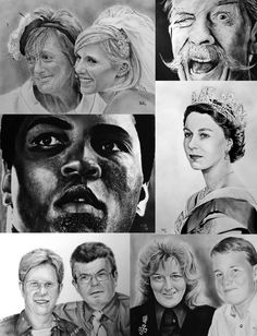 COMMISSION Art (Wedding) Portrait, familie,..Dry brush-Ideal gift birthday Xmass