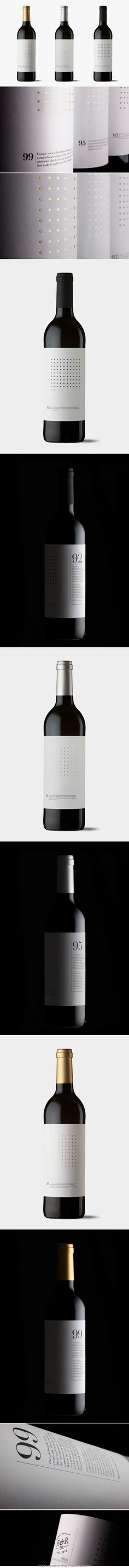 Dotted Grid Wines more #wine #packaging love : ) PD