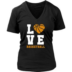 Show how proud Basketball fan you are wearing Basketball Love Tee or Hoodie. Custom men & women Basketball shirts by TeeLime. Cool designs clothing.