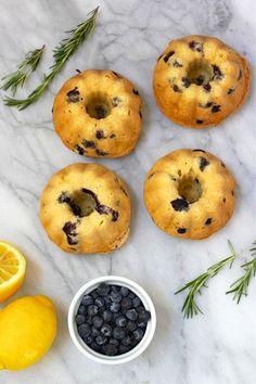 Lemon Blueberry Mini Bundt Cakes | Forgiving Martha for Camille Styles