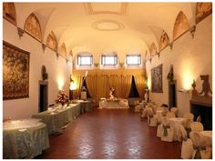 Villa Medicea La Ferdinanda The Meeting rooms have the capacity to hold 30/200 people.